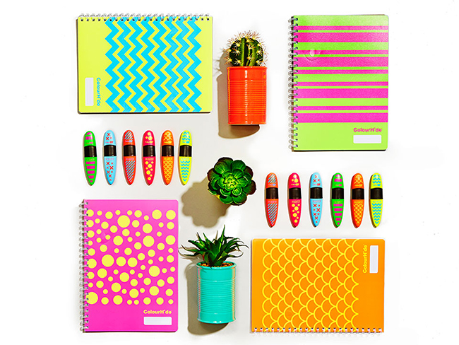 stationary and office supplies flatly photography
